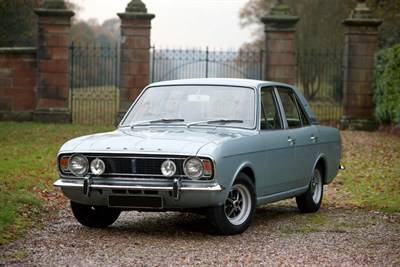 1966 Cars Ford Cortina2 1600E Front