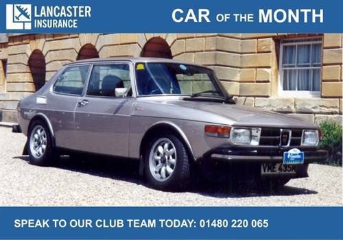 Car Of The Month Saab 99 Turbo