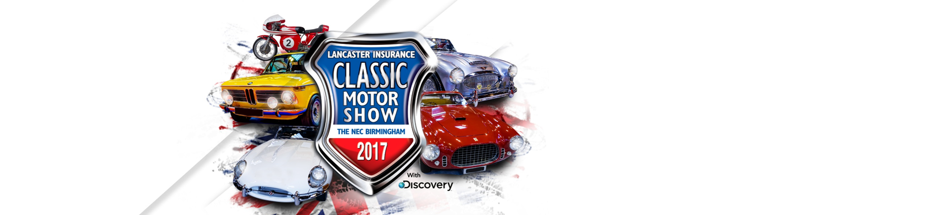 Lancaster Insurance Classic Motor Show 2017 with Discovery
