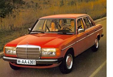 Mercedes Benz W123 40th Birthday