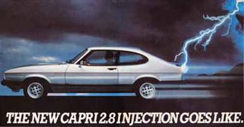 Top Ten 4-Seater Coupes Capri