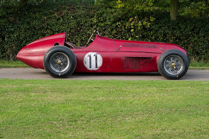 Ant Anstead's 1950's inspired Grand Prix Alfa Romeo