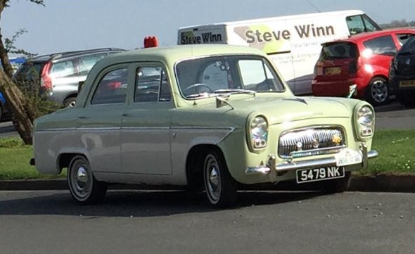 Meet The Owner - David Brooks and his Ford Prefect 107E