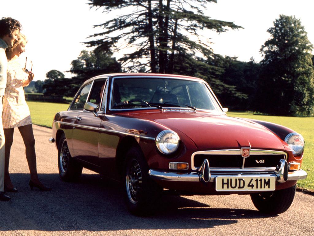 The Mgb V8 A Celebration Lancaster Insurance